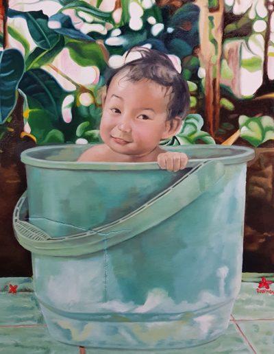 Boy in the Bucket